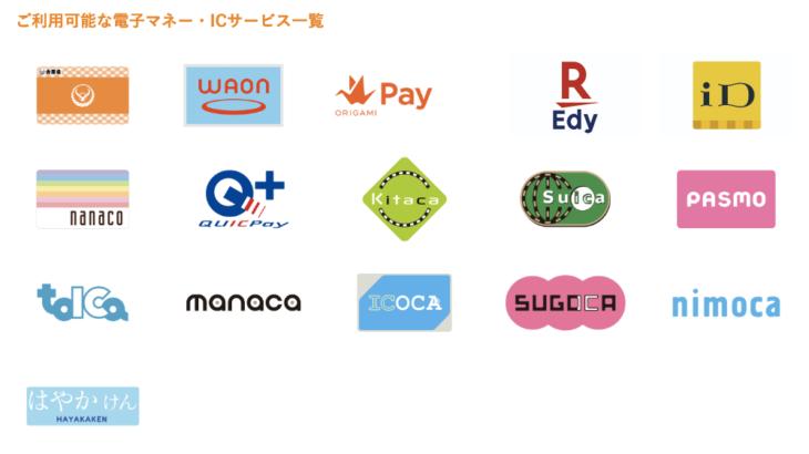 吉野家で使える電子マネー、スマホ決済、クレジットカード、キャッシュレス決済まとめ
